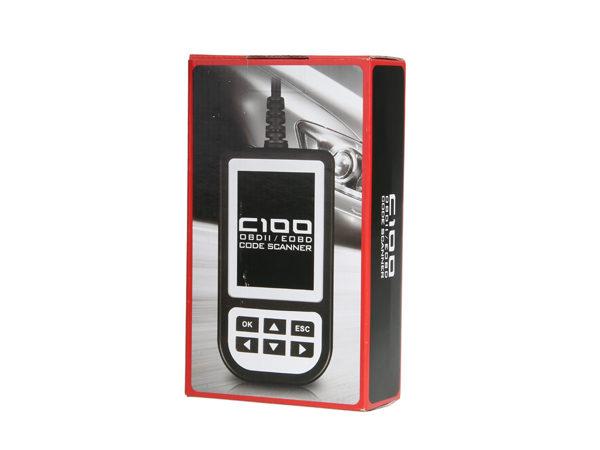Creator C100 Auto Scan OBDII//EOBD Code Reader Scanner Car Diagnostic Tool