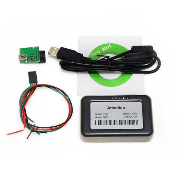 VD400 Adblue Emulator 8in1 V4 1 with NOx sensor support euro 6 truck